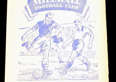 Millwall FC v Norwich City 04.05.1956