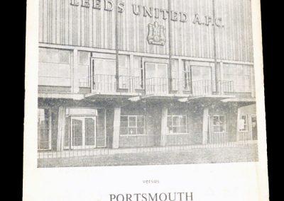 Portsmouth v Leeds 01.12.1962
