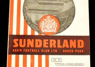 Sunderland v Leeds United 26.12.1957