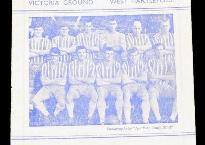 Hartlepools Untied v Doncaster 13.04.1963