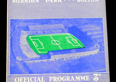 Bolton Wanderers v Leeds United 01.02.1958