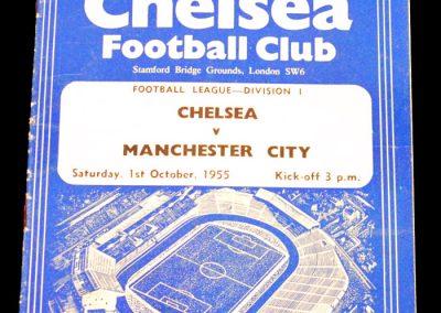 Chelsea v Manchester City 01.10.1955