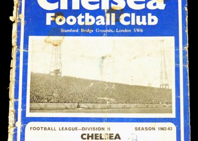 Chelsea v Preston North End 27.04.1963