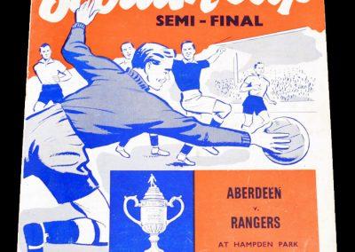 Aberdeen v Rangers 26.03.1966 | Scottish Cup Semi-Final