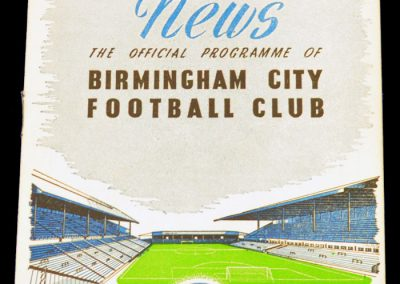 Birmingham City v Manchester City 22.10.1955