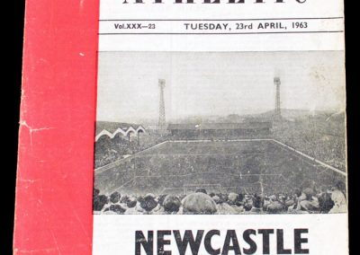 Charlton Atheltic v Newcastle United 23.04.1963