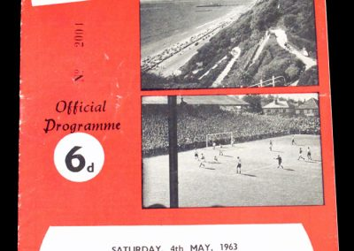 Bournemouth & Bosecombe FC v Shrewsbury Town 04.05.1963