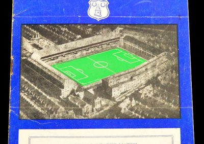 Everton v Leeds United 04.04.1958