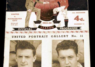 Manchester United v Manchester City 31.12.1955
