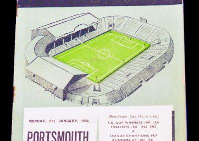 Portsmouth v Manchester City 02.01.1956