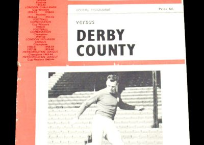 Charlton Athletic v Derby County 07.05.1966