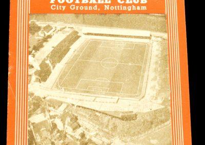 Nottingham Forest v Manchester City 07.09.1957