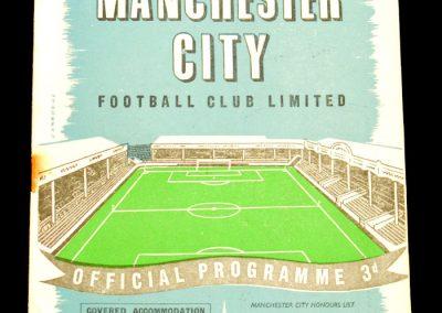 Preston North End v Manchester City 11.09.1957