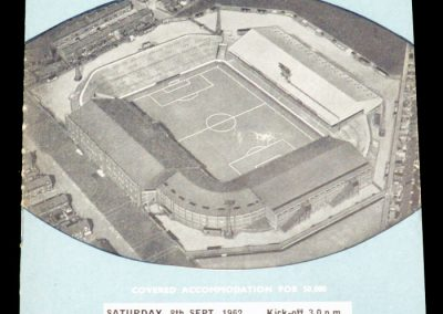 West Ham United v Manchester City 08.09.1962