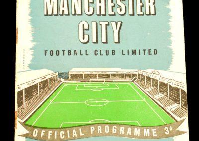 Portsmouth v Manchester City 14.09.1957