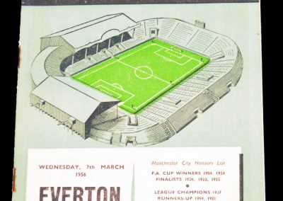 Everton v Manchester City 07.03.1956