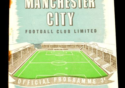 Tottenham Hotspur v Manchester City 28.09.1957