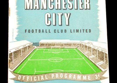 Sheffield Wednesday v Manchester City 09.10.1957