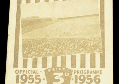 Newcastle United v Manchester City 07.04.1956