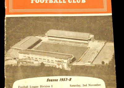 Arsenal v Manchester City 02.11.1957
