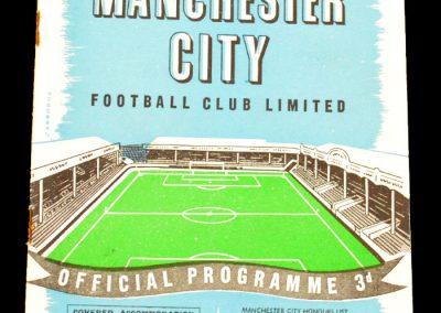 Hibernian v Manchester City 18.11.1957