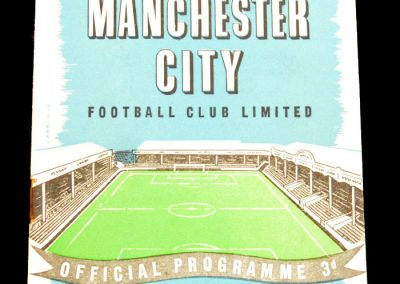 Wolverhampton Wanderers v Manchester City 23.11.1957