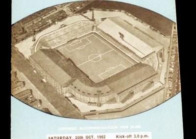Sheffield Wednesday v Manchester City 20.10.1962