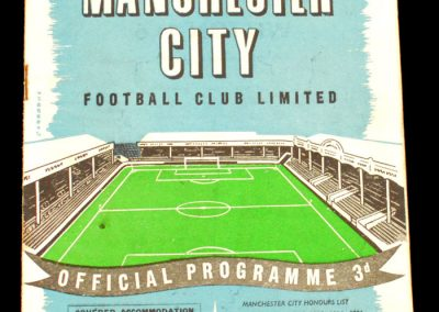 Everton v Manchester City 07.12.1957
