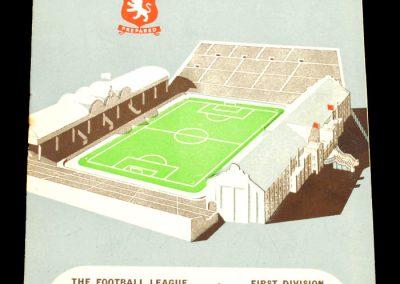 Aston Villa v Manchester City 14.12.1957