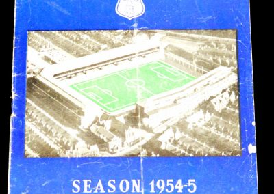 Everton v Preston 28.08.1954