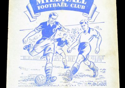 Millwall FC v Leyton Orient 30.08.1954