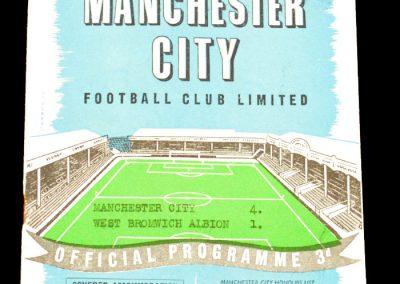 West Bromwich Albion v Manchester City 01.02.1958