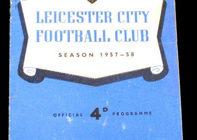 Leicester City v Manchester City 22.02.1958