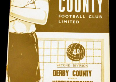 Derby County v Middlesbrough 14.11.1964