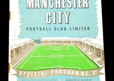 Blackpool v Manchester City 01.03.1958