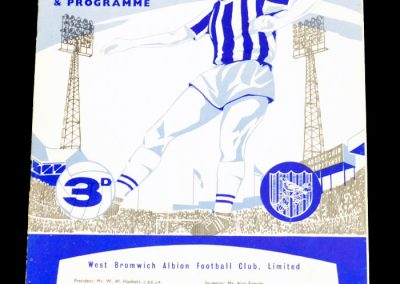 West Bromwich Albion v Manchester City 08.12.1962