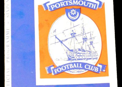 Portsmouth v Middlesbrough 28.11.1964