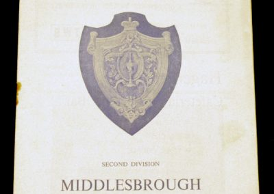 Huddersfield Town v Middlesbrough 19.12.1964 | Postponed