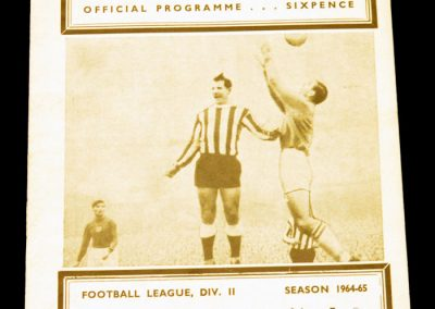 Newcastle United v Middlesbrough 28.12.1964
