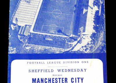 Sheffield Wednesday v Manchester city 09.03.1963