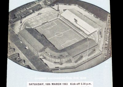 Norwich City v Manchester City 16.03.1963 | FA Cup 5th Round