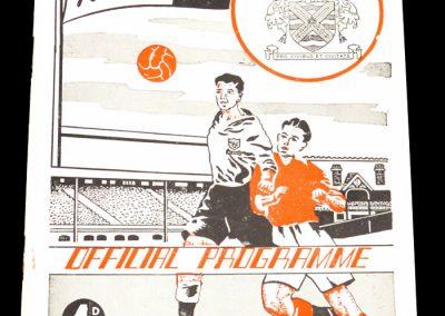 Fulham FC v Lincoln city 20.11.1954