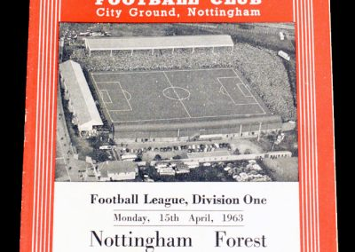 Nottingham Forest v Manchester City 15.04.1963