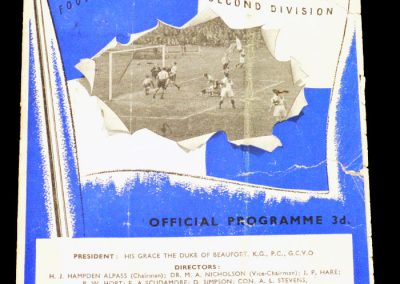 Bristol Rovers v Notts Co 27.12.1954