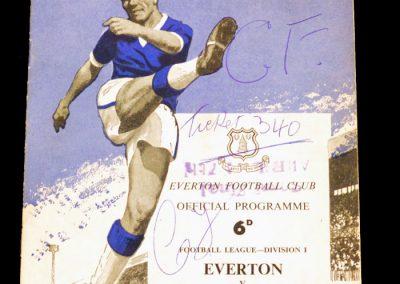Everton v Manchester United 22.08.1962