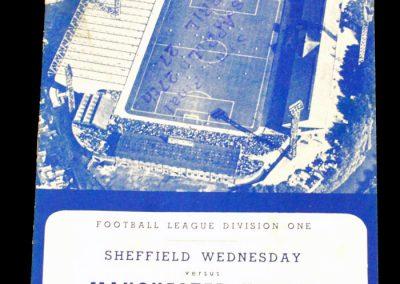 Sheffield Wednesday v Manchester United 29.09.1962
