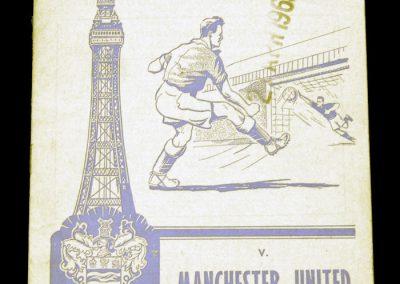 Blackpool v Manchester United 06.10.1962