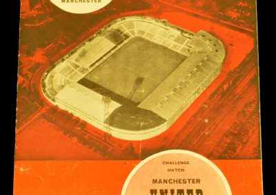 Manchester United v 1st Vienna 29.10.1962