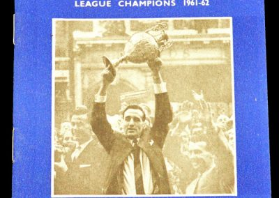 Ipswich Town v Manchester United 03.11.1962