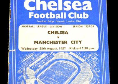 Manchester City v Chelsea 28.08.1957